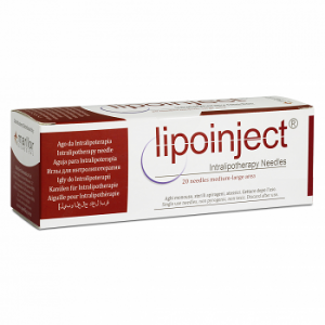 Lipoinject Intralipotherapy Needles (1×20 needles for medium to large area)